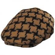 Huntsworth Wool Houndstooth Ivy Cap