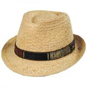Mojito Raffia Straw Fedora Hat