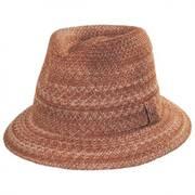 Freddy Braid Fedora Hat
