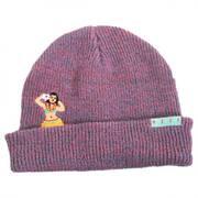 Peek A Boo Wahine Beanie Hat