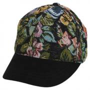 Floral Adjustable Baseball Cap