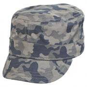 Camo Fly Cotton Cadet Cap