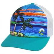 Paradise Trucker Snapback Baseball Cap