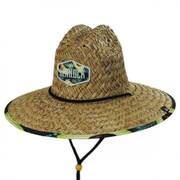 Avocado Straw Lifeguard Hat