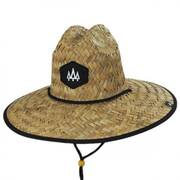 Blackout Straw Lifeguard Hat