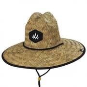 Blackout Straw Lifeguard Hat