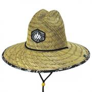 Bandana Straw Lifeguard Hat