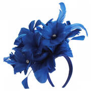 Araminta Feather Fascinator