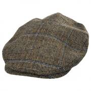 Plaid Barrel Wool Blend Ivy Cap