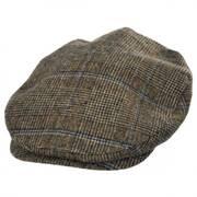 Plaid Barrel Wool Blend Ivy Cap