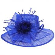 Aquaria Sinamay Straw Lampshade Hat