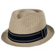 Park It Toyo Straw Blend Fedora Hat
