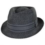 Park It Toyo Straw Blend Fedora Hat