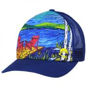 Lakeside Trucker Snapback Baseball Cap