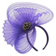 Paulette Crimped Fascinator