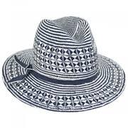 Mykonos Toyo Straw Fedora Hat