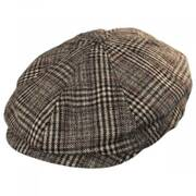 Brood Plaid Wool Blend Newsboy Cap