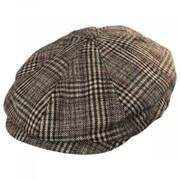 Brood Plaid Wool Blend Newsboy Cap