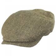Herringbone Silk Ivy Cap