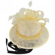Bateau Sinamay Sailor Hat