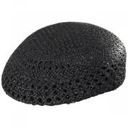 Vented Toyo Straw Ascot Ivy Cap
