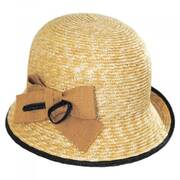 Nanni Straw Cloche Hat