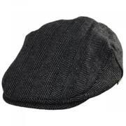 Oban Herringbone Wool Blend Ivy Cap