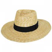 Joanna Straw Fedora Hat
