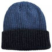 Scullie Knit 2Tone Cuff Beanie Hat