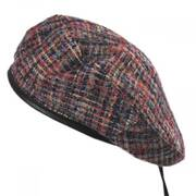 Wool Blend Tweed Beret