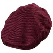 Hooligan Solid Corduroy Cotton Ivy Cap