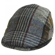 Donegal Tweed Wool Plaid Overcheck Ivy Cap
