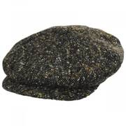 Donegal Tweed Marl Wool Newsboy Cap