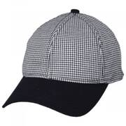 Houndstooth 9Twenty Strapback Baseball Cap Dad Hat