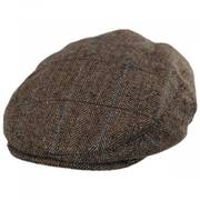 Gibson Herringbone Plaid Wool Blend Ivy Cap