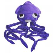 Giant Plush Squid Hat