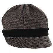 Karen Pinstriped Fleece Weekender Cap