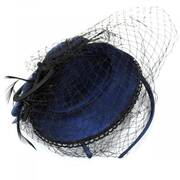 Velvet Scallop Lace Fascinator