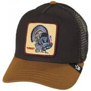 Turkey Trucker Snapback Baseball Cap