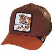 Wild Tiger Kids Trucker Snapback Baseball Cap