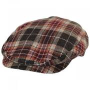 Hooligan Plaid Wool Blend Ivy Cap