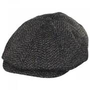 Brood Tweed Wool Blend Newsboy Cap