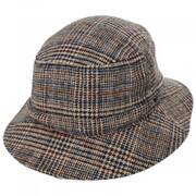 Mathews Plaid Wool Blend Bucket Hat