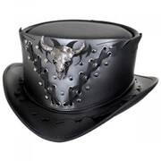 Ironclad Leather Top Hat