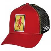 Loteria El Diablito Snapback Trucker Baseball Cap