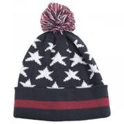 Stars and Stripes Beanie Hat