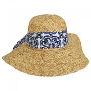 Citron Toyo Straw Swinger Hat