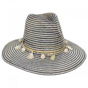 Raeni Toyo Straw Blend Safari Fedora Hat