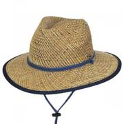 Bondi Rush Straw Safari Fedora Hat