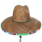 Thermal Palm Straw Lifeguard Hat